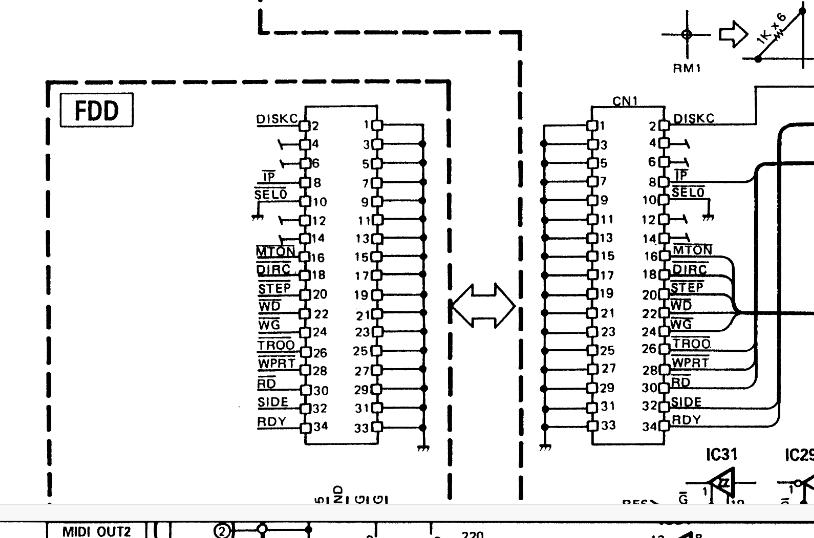 Yamaha QX-3 midi hardware sequencer floppy disk